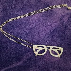 Kate Spade Large Glasses Pendant Necklace